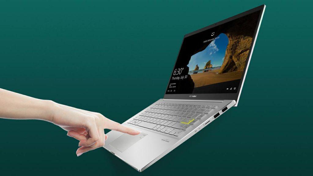 Fingerprint Notebook ASUS VivoBook S14 S433