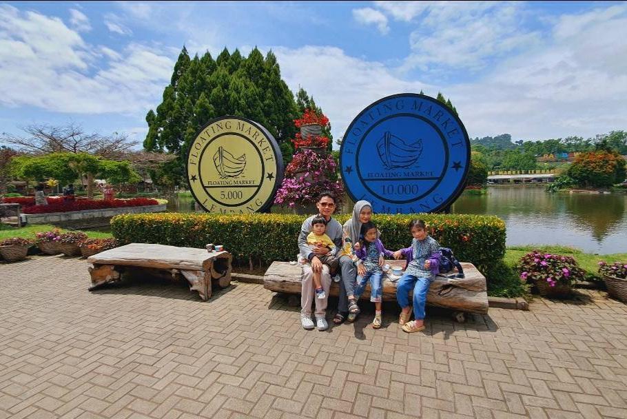 Liburan masa pandemi di Lembang